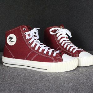 P.F. Flyers Made in USA, PF Flyers Center Hi, Red